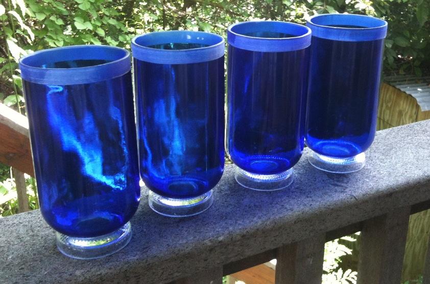 Cut wine bottles glasses fullcircle page 3 for Alcohol bottles made into glasses